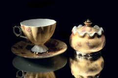 сахар чашки шара стоковые фотографии rf