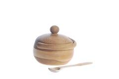 сахар шара деревянный Стоковые Фото