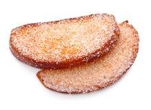 сахар rusk бортовой Стоковые Фото