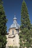 Саламанка Испания: историческая церковь San Sebastian Стоковые Фото