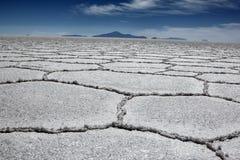Салар в Боливии Стоковые Изображения RF
