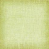 Салатовая естественная linen текстура для предпосылки Стоковая Фотография