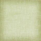 Салатовая естественная linen текстура для предпосылки Стоковая Фотография RF