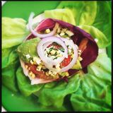 салат авокадоа свежий Стоковая Фотография