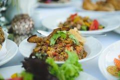 Салат баклажана Стоковое Фото