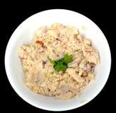 Салат белых рыб стоковые изображения