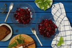 Салат бураков Стоковое Фото