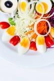 Салат вареного яйца Стоковые Фото