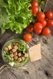 Салат в опарнике Стоковая Фотография RF