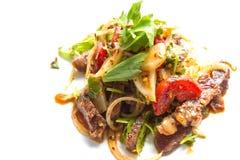 салат говядины пряный Стоковые Изображения RF