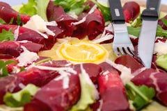 Салат говядины стоковые изображения