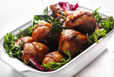 салат жаркого цыпленка Стоковые Изображения RF