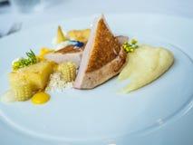 салат зажженный цыпленком Стоковая Фотография RF