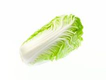 Салат изолированный на белой предпосылке Стоковая Фотография RF