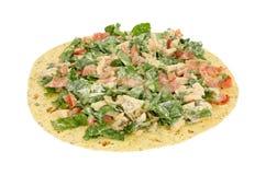 Салат из курицы на обруче tortilla Стоковая Фотография RF