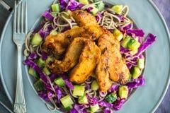 салат из курицы тайский Стоковые Фотографии RF