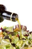 Салат и масло Стоковые Изображения RF