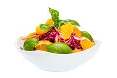 Салат красной капусты стоковое фото