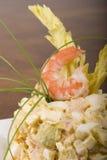 Салат креветки Стоковая Фотография
