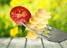 салат макаронных изделия Стоковое Изображение