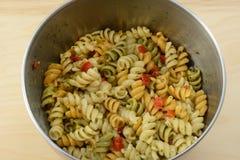 салат макаронных изделия Стоковые Изображения RF