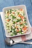 Салат македонии, macedoine de бобы, смешанный vegetable салат Стоковое Фото