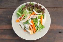 Салат морепродуктов пряный Стоковое Фото