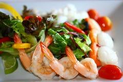 Салат морепродуктов Стоковая Фотография