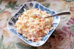 Салат морковей и капусты Стоковое Фото