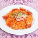 Салат морковей Стоковые Фото