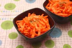 Салат морковей Стоковое Изображение