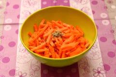 Салат морковей Стоковое фото RF