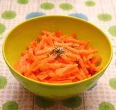 Салат морковей Стоковые Фотографии RF