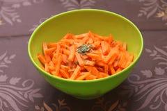 Салат морковей Стоковые Изображения RF