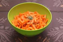 Салат морковей Стоковая Фотография