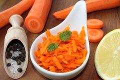Салат моркови стоковое фото