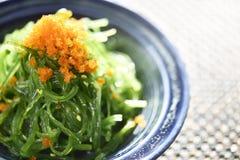 Салат морской водоросли, салат Wakame Стоковые Изображения