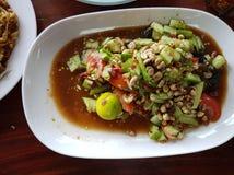 Салат огурца пряный Стоковые Фото