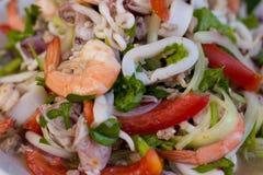 Салат осьминога Стоковая Фотография RF