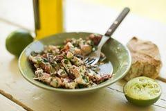 Салат осьминога Стоковая Фотография