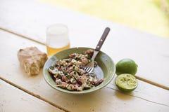 Салат осьминога Стоковое Изображение RF