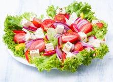 Салат от свежих овощей Стоковое фото RF