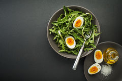 Салат одуванчика Стоковое фото RF