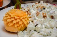Салат плодоовощ и картошки Стоковая Фотография RF