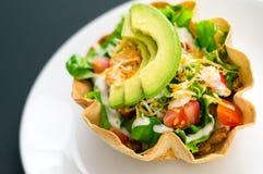 Салат раковины Tortilla Стоковые Изображения