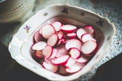 Салат редиски Стоковое Фото
