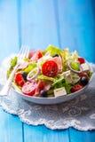 Салат Свежий салат салата лета Здоровое среднеземноморское ol салата Стоковое Изображение