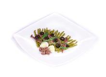 Салат спаржи с камсами Стоковые Изображения RF