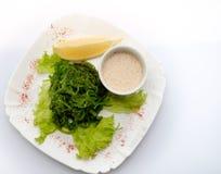 Салат с водорослями Стоковое Изображение