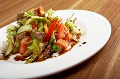 Салат с говядиной Стоковое Изображение RF